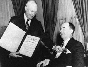 Neumann és Eisenhower