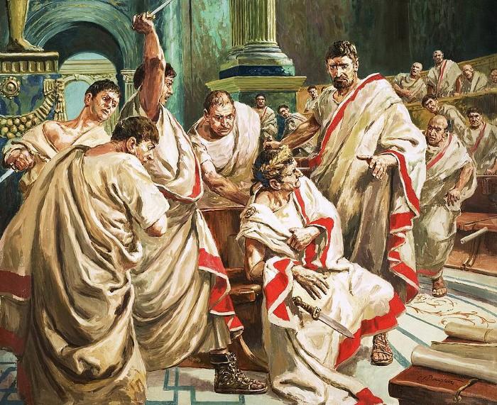 Julius Caesar halála